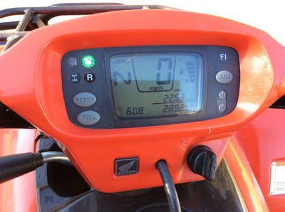 REd 2007 Honda Rincon 680FA 4X4