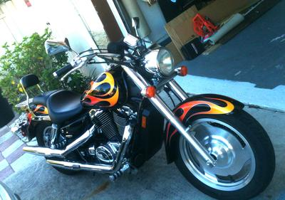 2007 Honda Shadow VT1100