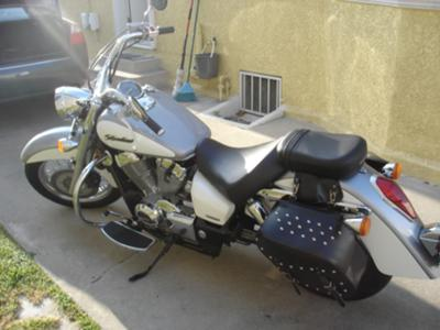 2007 Honda Shadow Aero (this photo is for example only; please contact seller for pics of the actual motorcycle sale in this classified)