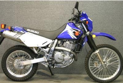 2007 Suzuki DR650 SE Blue