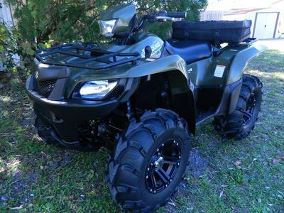 2007 SUZUKI KINGQUAD 700 4X4 (this photo is for example only; please contact seller for pics of the actual ATV for sale in this classified)