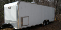 2007 Vintage Outlaw Enclosed Trailer 24 feet