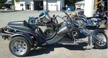 Custom 2007 VW Trike Three Wheeler 1600cc Motorcycle