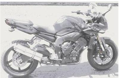 2007 Yamaha FZ1 (example only - not the bike for sale in this classified.