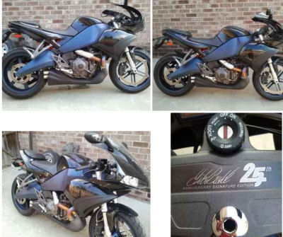 Buell 1125R Signature Edition motorcycle in showroom condition