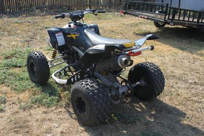 2008 Can Am DSX 450 4 Wheeler