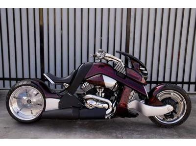 2008 Custom Built Travertson V-Rex Motorcycle for Sale