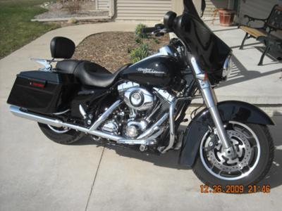2008 Harley Street Glide For Sale