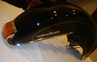 Front Fender 2008 Harley Davidson Ultra Classic FLHTCU Cruiser Parts