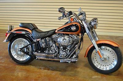 2008 Harley Davidson Softail FatBoy Anniversary Edition