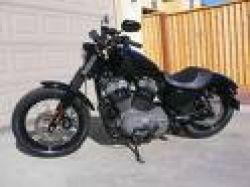 Black 2008 Harley Davidson Sportster Nightster XL 1200N