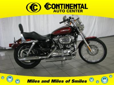 2008 Harley Sportster XL1200C TWO TONE MOTORCYCLE PAINT