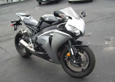 2008 HONDA CBR 600 BLACK and SILVER