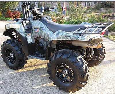 2008 Kawasaki Brute Force 750 4x4i (this photo is for example only; please contact seller for pics of the actual ATV for sale in this classified)