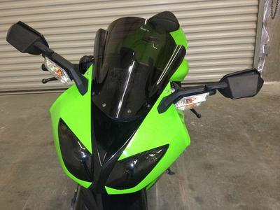 2008 Kawasaki Ninja ZX10R in Green (this photo is for example only; please contact seller for pics of the actual motorcycle for sale in this classified)