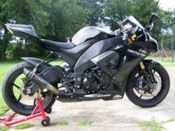 2008 Kawasaki ZX-10R (this photo is for example only; please contact seller for pics of the actual motorcycle for sale in this classified)