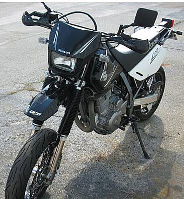 2008 Suzuki DR650 SuperMoto Super Moto Dirt Bike Motorcycle