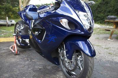 2008 Suzuki Hayabusa GSXR GSX-R 1300 Motorcycle