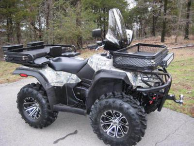 2008 Suzuki King Quad ATV 4X4