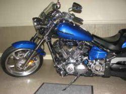 Blue 2008 Yamaha Raider S