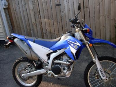 2008 Yamaha WR 250R Yamaha WR250R (this photo is for example only; please contact seller for pics of the actual dirt bike motorcycle for sale in this classified)
