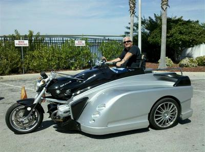2009 BMW 1200 Trike Motorcycle