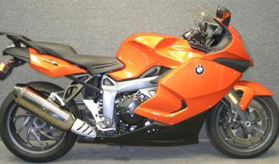 Orange 2009 BMW K1300S