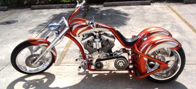 2009 CUSTOM CHOPPER TRIKE (this photo is for example only; please contact seller for pics of the actual motorcycle for sale in this classified)
