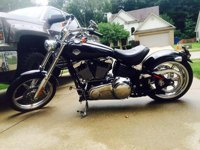 LIKE NEW 2009 Harley Davidson Rocker C Softail for sale by Owner in Indiana IN USA