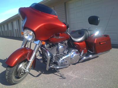 Front Left 2009 Harley Davidson Street Glide