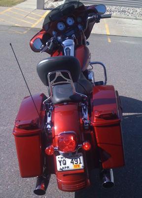 Rear Fender 2009 Harley Davidson Street Glide