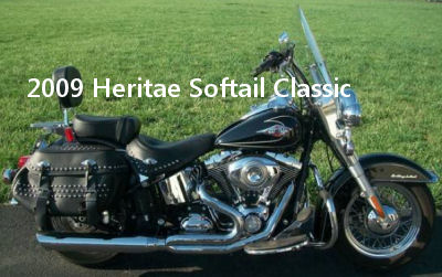 2009 Harley Heritage Softail Classic Motorcycle