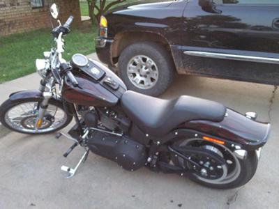 Picture of a 2009 Harley Davidson Night Train Softail