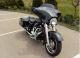 2009 harley davidson street glide black pearl gray motorcycle
