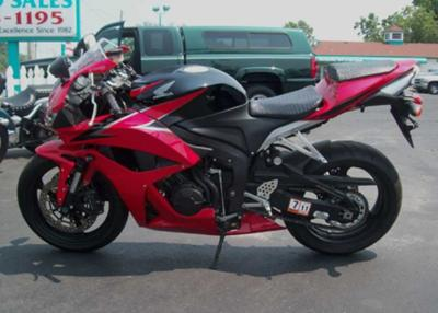 2009 HONDA CBR 600 RR RED BLACK
