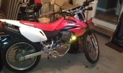 2009 Honda CRF230L Dual Sport Trail or Dirt Bike (this photo is for example only; please contact seller for pics of the actual motorcycle for sale in this classified)