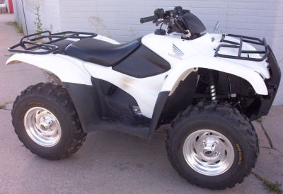 2009 Honda Rancher 420 AT 4x4 for Sale