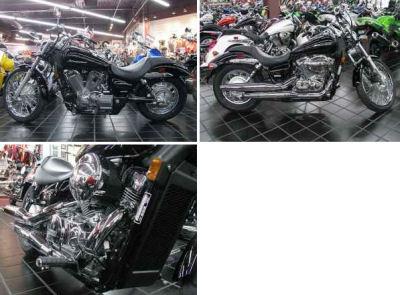 BLACK 2009  HONDA SHADOW 750 SPIRIT