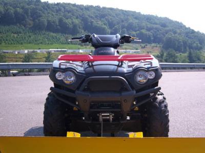 2009 Kawasaki Brute Force 650 4x4i Snow Plow Winch