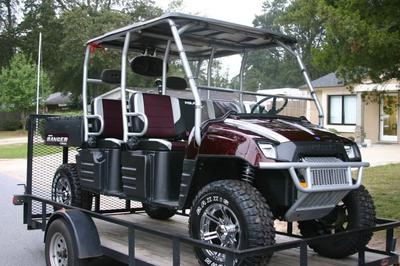 2009 POLARIS RANGER CREW 700  in Black Cherry