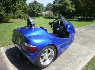 2009 Thoroughbred Motorsports Stallion Trike (this photo is for example only; please contact seller for pics of the actual motorcycle for sale in this classified)