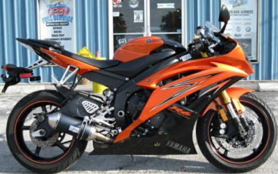 2009 Yamaha R6 (this photo is for example only; please contact seller for pics of the actual motorcycle for sale in this classified)