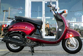 2009 yamaha vino 125 for sale best of all scooters. Black Bedroom Furniture Sets. Home Design Ideas