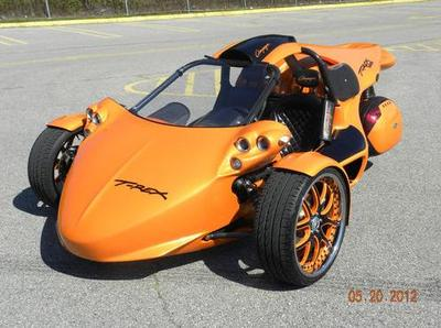 2010 Campagna T Rex (this photo is for example only; please contact seller for pics of the actual Trike motorcycle for sale in this classified)