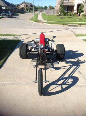 2010 Custom Chopper Trike Show Motorcycle built by Angelina Customs of Huntington, TX Texas
