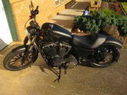 Custom 2010 Harley Davidson Sportster Iron 883