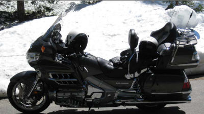 2010 Honda Goldwing  GL1800 (this photo is for example only; please contact seller for pics of the actual motorcycle for sale in this classified)