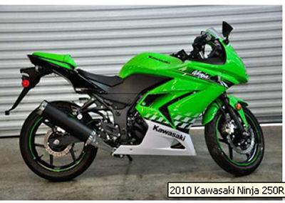 2010 Kawasaki Ninja 250r For Sale