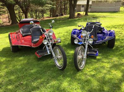 2010 Vw Trike Motorcycles for Sale in LaVale, MD Maryland