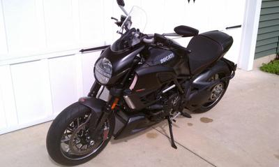 2011 Ducati Diavel Carbon (this photo is for example only; please contact seller for pics of the actual motorcycle for sale in this classified)